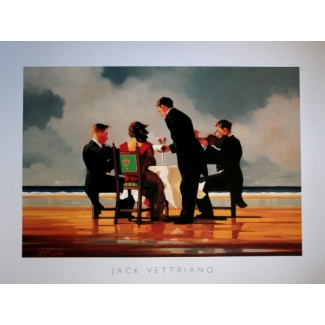 Affiche Jack Vettriano - Elegy For A Dead Admiral