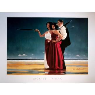 Affiche Jack Vettriano - The Missing Man I