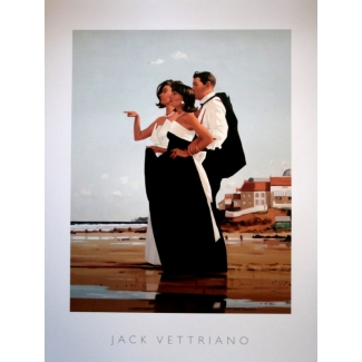 Affiche Jack Vettriano - The Missing Man II