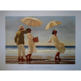Affiche Jack Vettriano - The Picnic Party