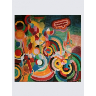 Delaunay Art Print - Homage to Blériot