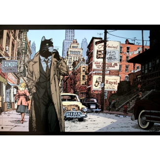 Affiche Guarnido - Blacksad New York ...