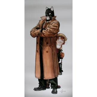 Affiche Juanjo Guarnido - Blacksad et Weekly