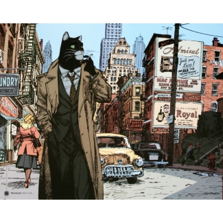 Affiche Juanjo Guarnido - Blacksad New York ...