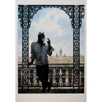 Guarnido Signed offset lithograph -  Romantic