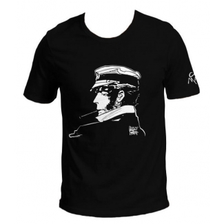 T-shirt Corto Maltese - Cigarrillo (negro)