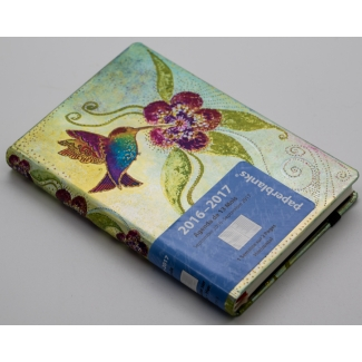Agenda scolaire Paperblanks - Laurel Burch - Colibri - 13 Mois 2016-2017 MINI