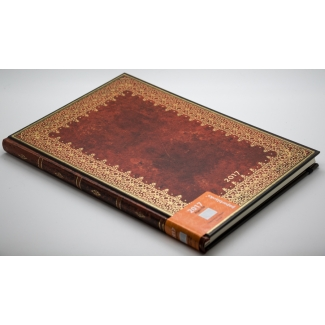 Agenda Paperblanks 2017 - Feuille d'Or GRAND