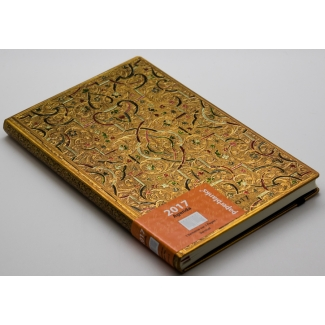 Agenda Paperblanks 2017 - Marqueterie d'Or MAXI