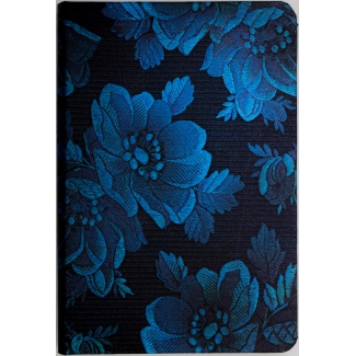 Carnet Paperblanks - Collection Chic et Satin : Muse Bleue - carnet MINI