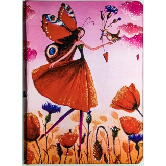 Paperblanks Journal diary - Mila Marquis : Poppy Field - MIDI