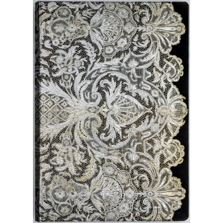 Paperblanks Journal diary - Lace Allure - Ivory Veil - MIDI