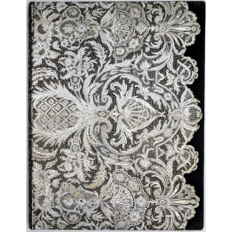 Paperblanks Journal diary - Lace Allure - Ivory Veil - ULTRA