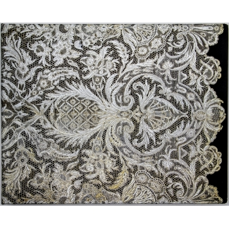 Paperblanks Guest Book - Lace Allure - Ivory Veil