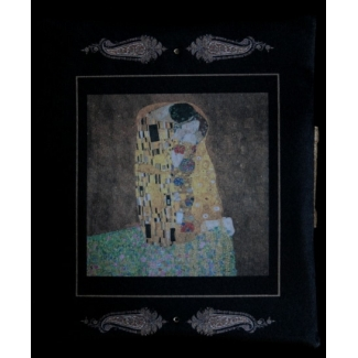 Gustav Klimt Wallet - The Kiss
