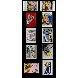 Cartoline Roy Lichtenstein