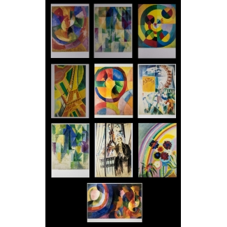 10 Robert Delaunay postcards