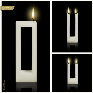 Alusi multi-incandescent candle – QUADRA