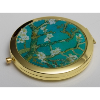 Van Gogh compact mirror : Almond Branches in Bloom