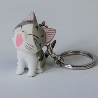 Chi's Sweet Home Cat Key Ring : Miia