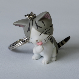 Chi's Sweet Home Cat Key Ring : Papatte