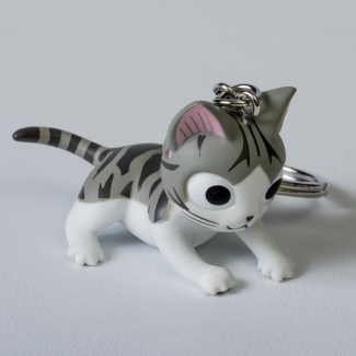 Chi's Sweet Home Cat Key Ring : Gratouille