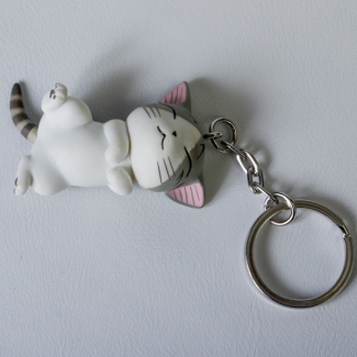 Chi's Sweet Home Cat Key Ring : Ronron