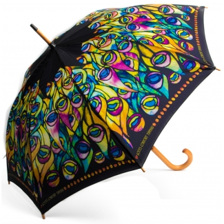 Tiffany Umbrella - Peacock