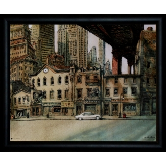De Crécy framed print : Lyric Theatre