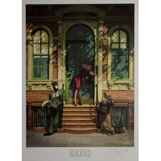 Juanjo Guarnido signed Art Print -  226, New York