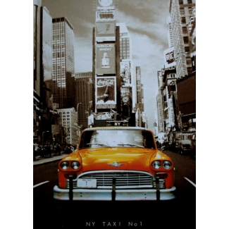 Yellow cab puzzle - New York