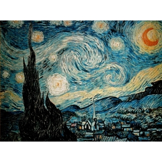 Van Gogh puzzle - Starry night