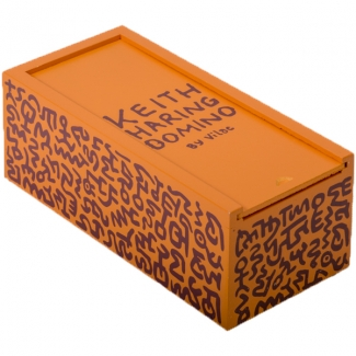 Dominos couleur en bois Keith Haring
