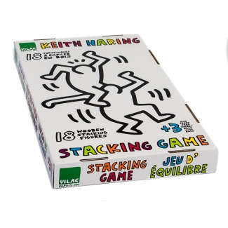 Keith Haring Wooden Stacking Game