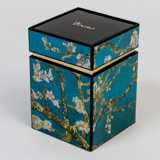 Vincent Van Gogh tea box : Almond Branches in Bloom