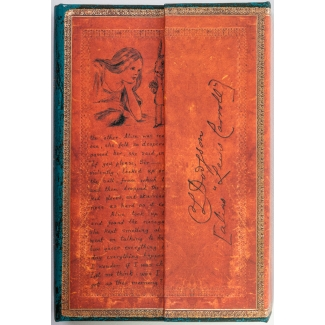 Paperblanks Journal diary - Lewis Carroll - MINI