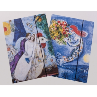 Folders for documents A4 - Marc Chagall