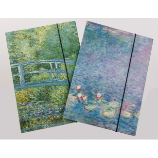 Folders for documents A4 - Claude Monet