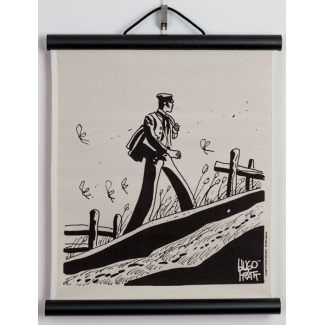Serigrafía - Corto Maltese Hugo Pratt - China
