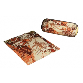 Mucha Eyesglass case - Winter