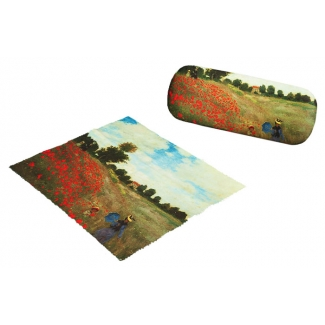 Claude Monet Eyesglass case - Poppy Field