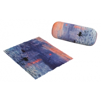 Claude Monet Eyesglass case - Impression, Rising Sun