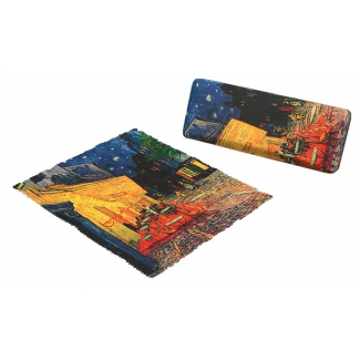 Vincent Van Gogh Eyesglass case - Cafe Terrace