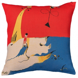Joan Miro Cushion cover : Landscape