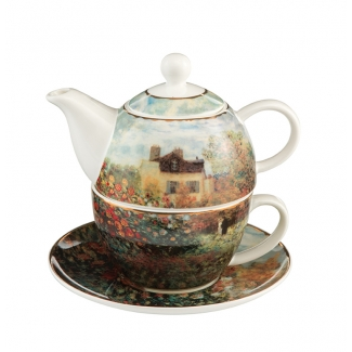 Claude Monet Tea for One : The Artist's House