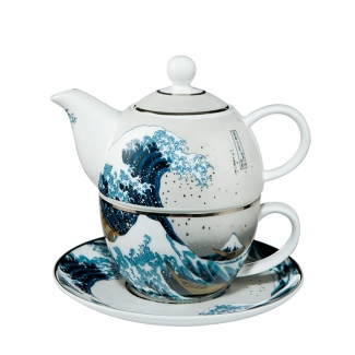 Hokusai Tea for One : The Great Wave