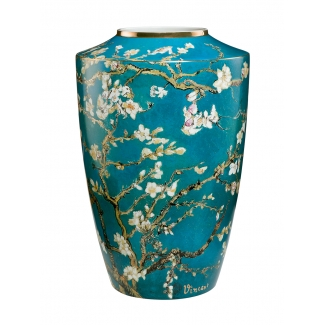 Van Gogh vase : Almond tree (blue)