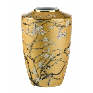 Van Gogh vase : Almond tree (gold)