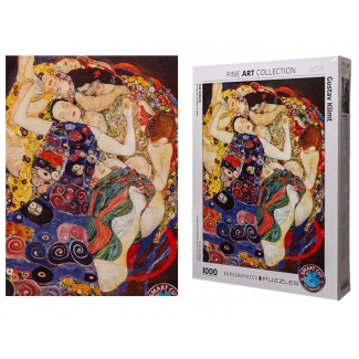 Gustav Klimt puzzle - The Virgin