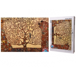 Gustav Klimt puzzle - The tree of life